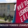 2015 2016 Hasan Kalyoncu Üni Klinik Psikoloji Yüksek Lisans/Doktora
